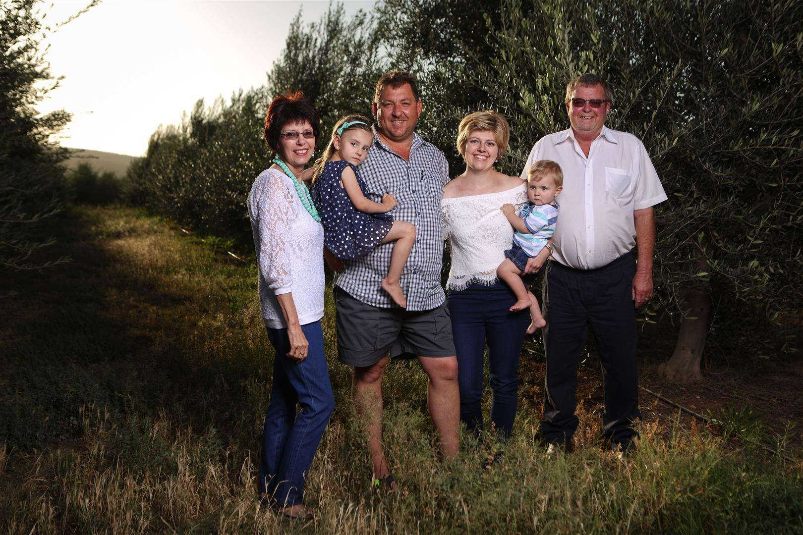 Steyn Familie shoot - Surval Boutique Olive Estate, Oudtshoorn