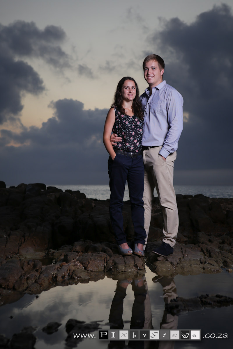 Ruan & Michelle Couple shoot beach sunrise(1811)
